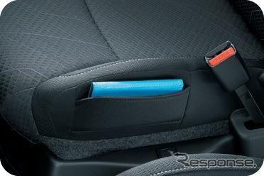 スズキ ソリオ GX2/GX4 運転席シートサイドポケット《画像:スズキ》