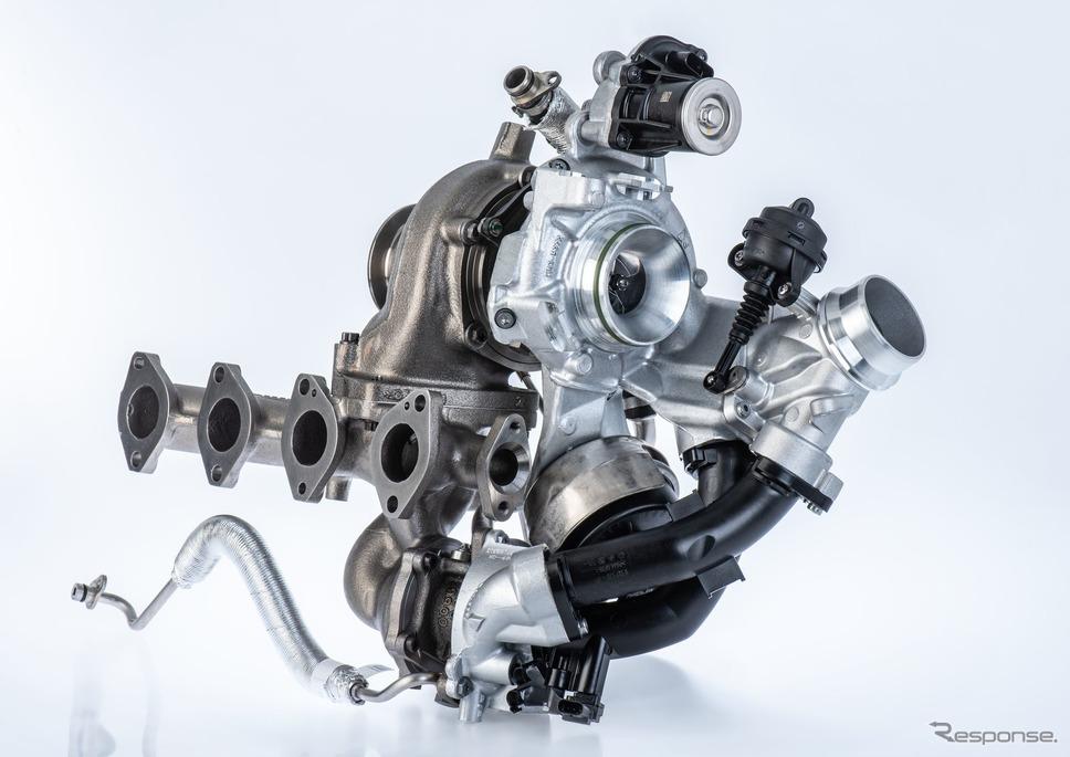 BMW、ボルグワーナーの最新2ステージターボ採用…3シリーズ 新型などに搭載《photo by Borg Warner》