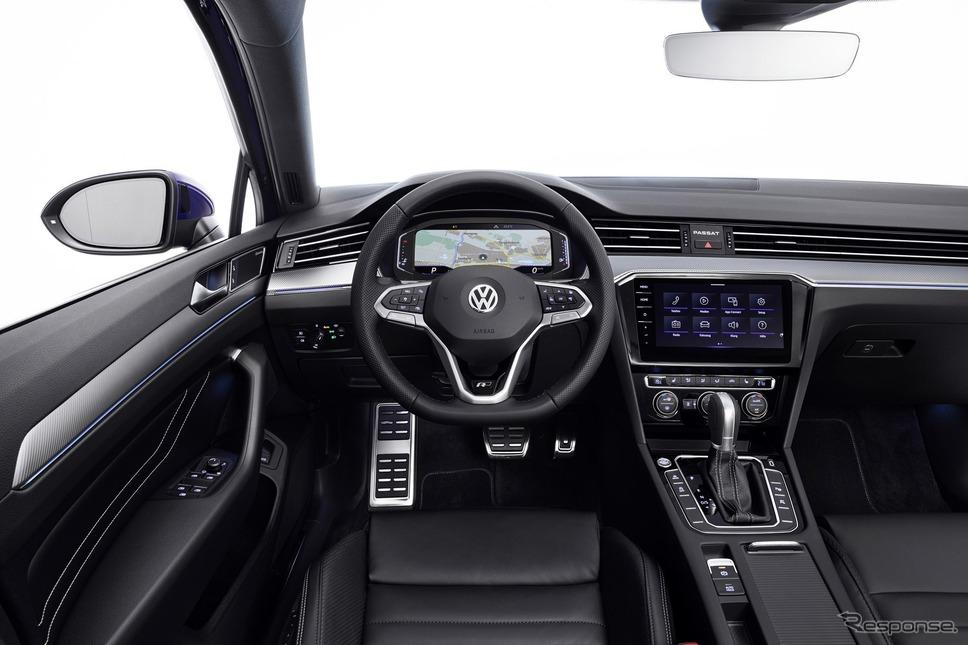 フォルクスワーゲン・パサート改良新型《photo by VW》