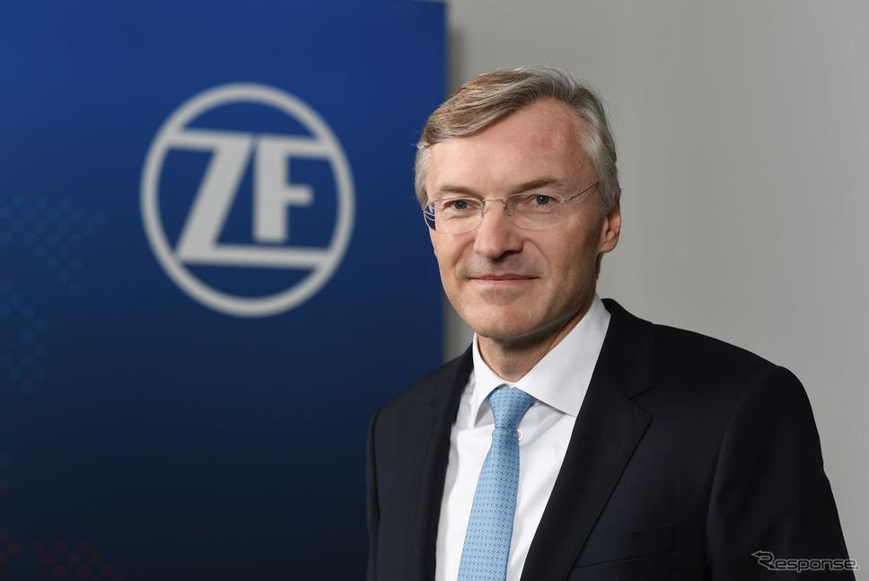ZFのウォルフ=へニング・シャイダーCEO《画像 ZF》