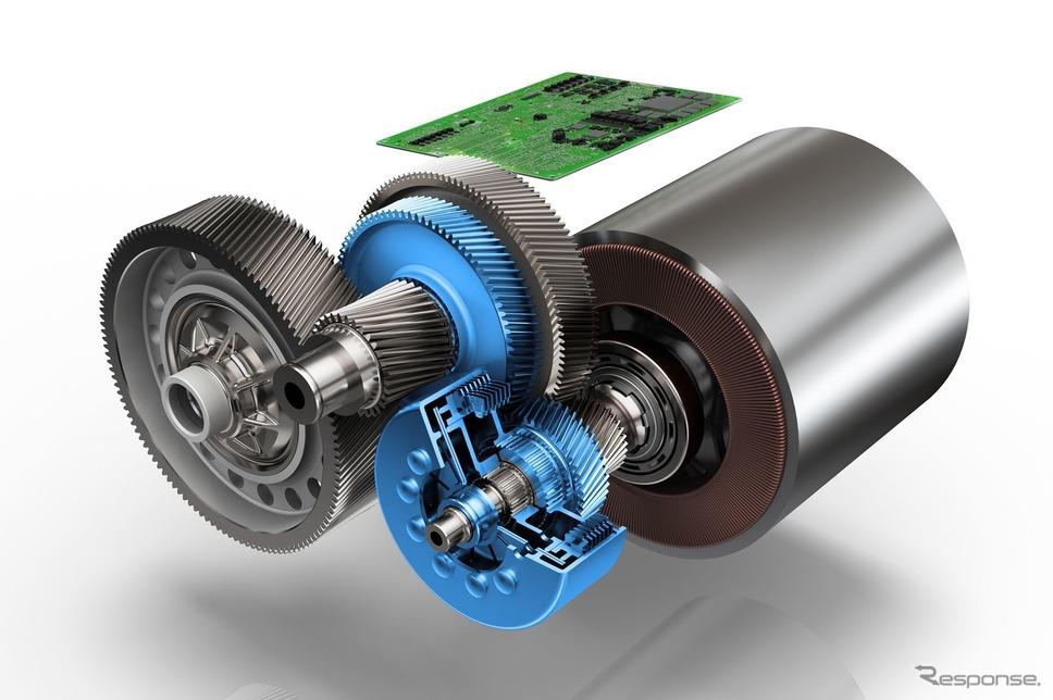 ZFの電動車向け新開発2速トランスミッション《photo by ZF》