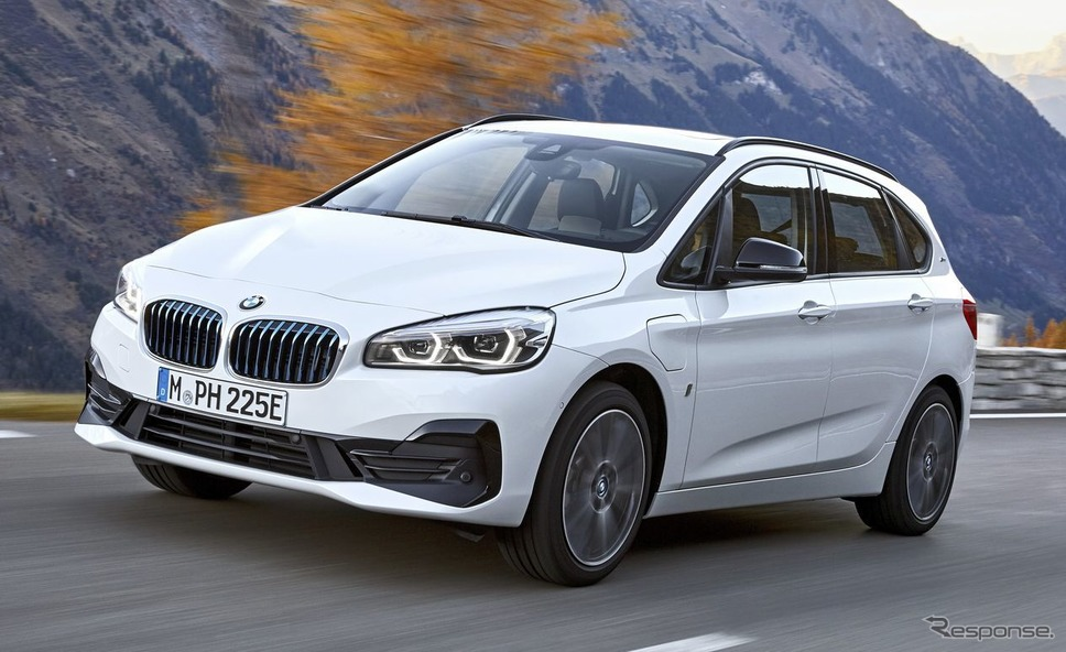BMW2シリーズ アクティブ ツアラーのPHV「225xe」《photo by BMW》