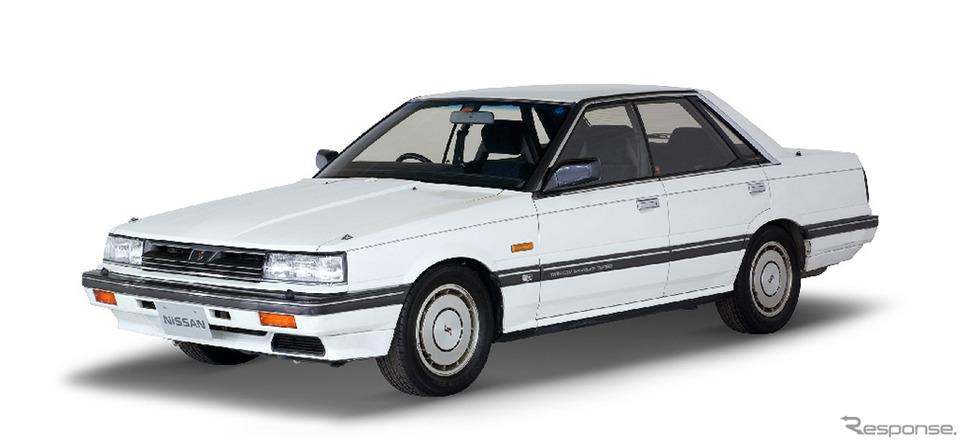 スカイライン4ドア ハードトップGTツインカム24Vターボ パサージュ(1985年)《画像 日産自動車》