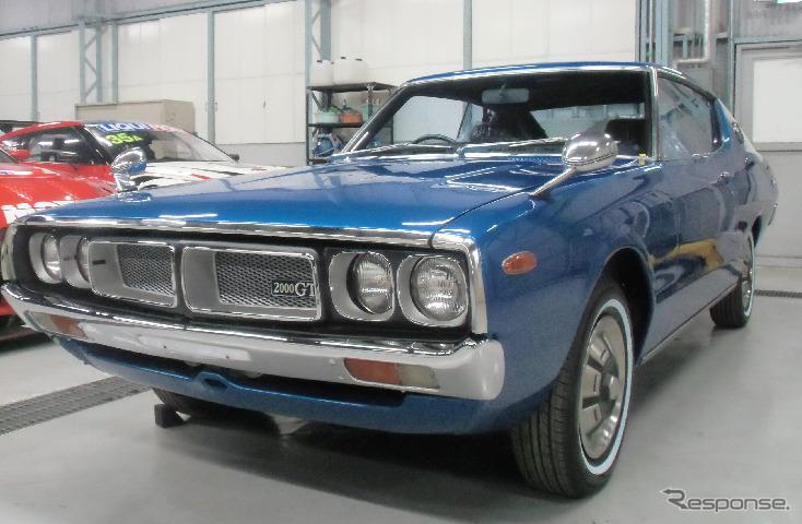 スカイライン・ハードトップ2000GT(1974年)《画像 日産自動車》