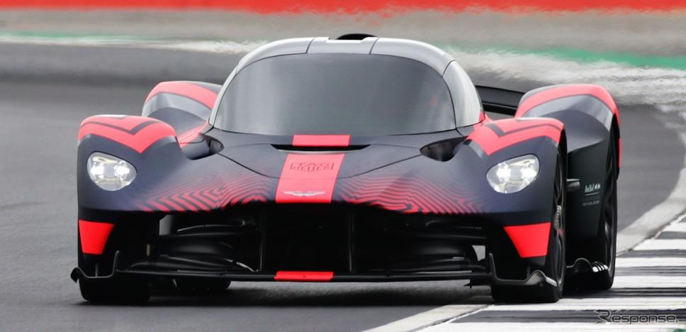 アストンマーティン・ヴァルキリー の最新プロトタイプ《photo by Aston Martin》