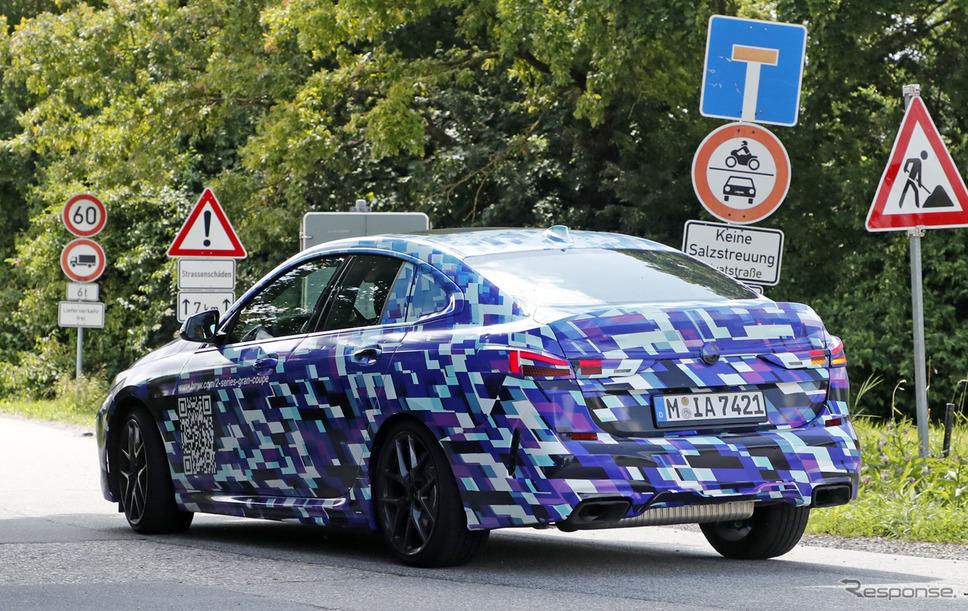 BMW 2シリーズグランクーペ プロトタイプ(スクープ写真)《APOLLO NEWS SERVICE》