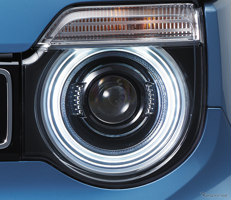 LEDヘッドライト 点灯イメージ《画像:ホンダ》