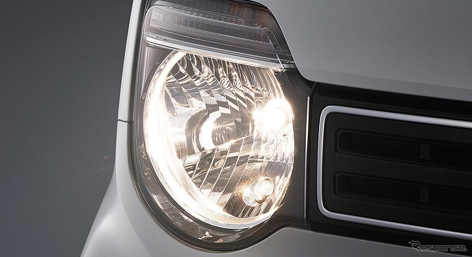 ハロゲンヘッドライト 点灯イメージ《画像:ホンダ》