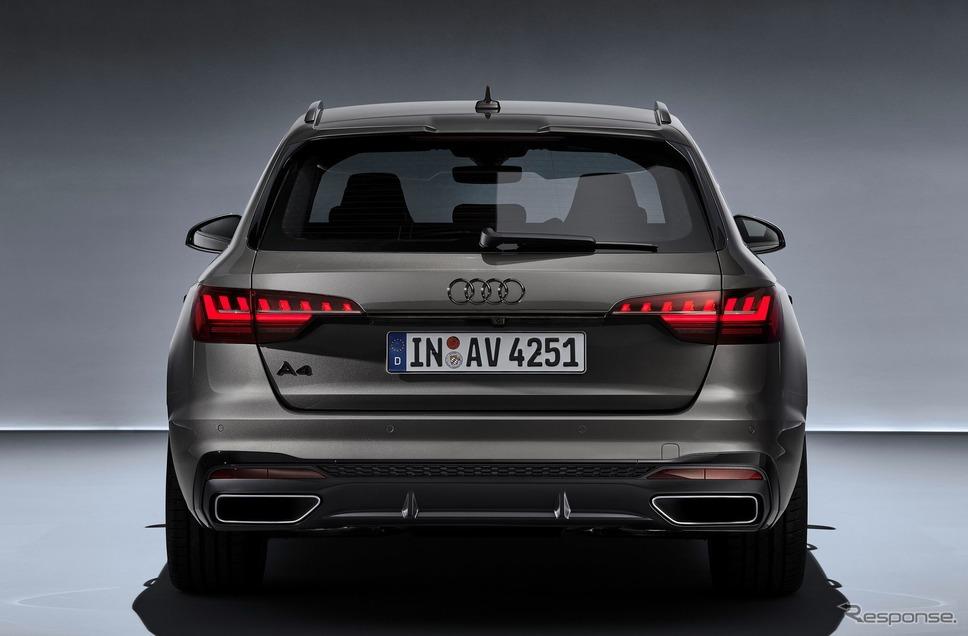 アウディ A4 アバント 改良新型《photo by Audi》
