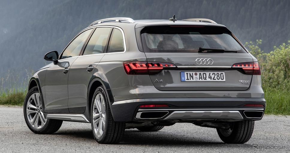アウディA4オールロードクワトロ改良新型《photo by Audi》