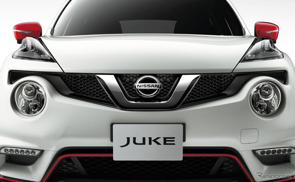 日産 ジューク 現行型(参考画像)《photo by Nissan》