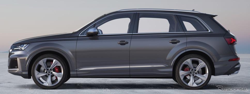 アウディ SQ7 TDI 改良新型《photo by Audi》