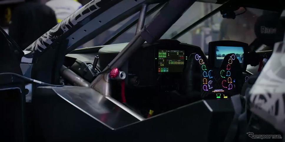 シボレー・コルベットC8.Rの開発プロトタイプ《photo by Chevrolet》