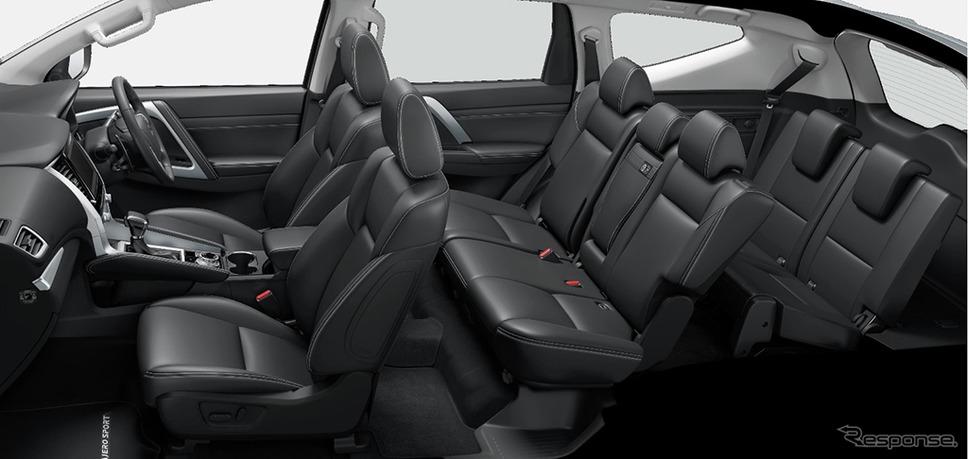 三菱パジェロスポーツ新型《画像 三菱自動車》