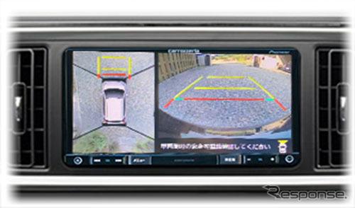 マルチカメラ映像を市販ナビに表示《画像 データシステム》