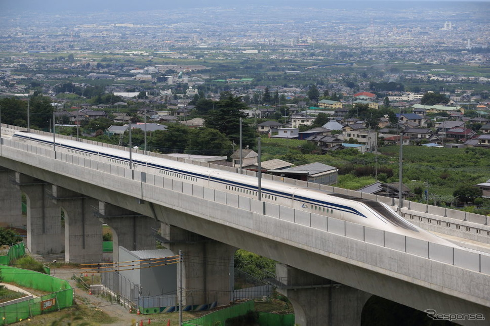 JR東海リニアモーターカー試験車《photo (c) Getty Images》