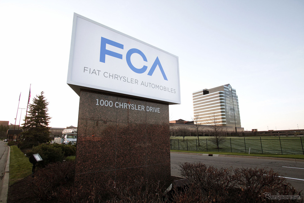 FCAのアメリカ、オーバーンヒルズ本社《photo by Getty Images》