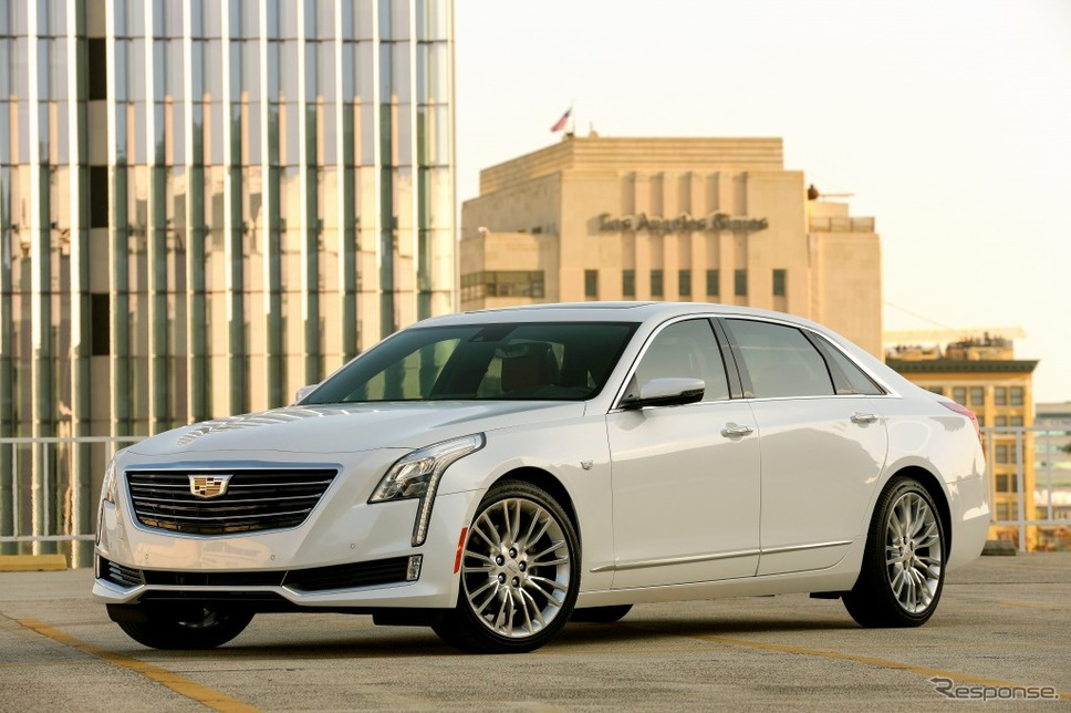 キャデラックCT6《photo by Cadillac》