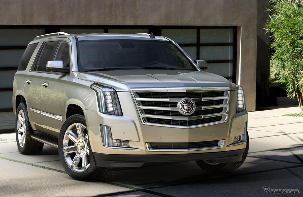 キャデラック・エスカレード《photo by Cadillac》