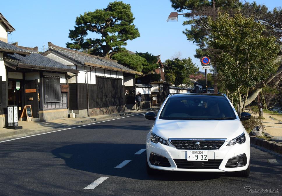 島根・松江城近くには古い町並みが残る。《撮影 井元康一郎》