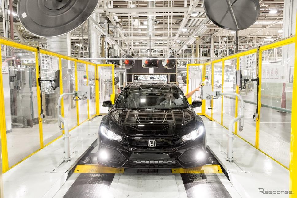 ホンダの英スウィンドン工場《photo: Honda》