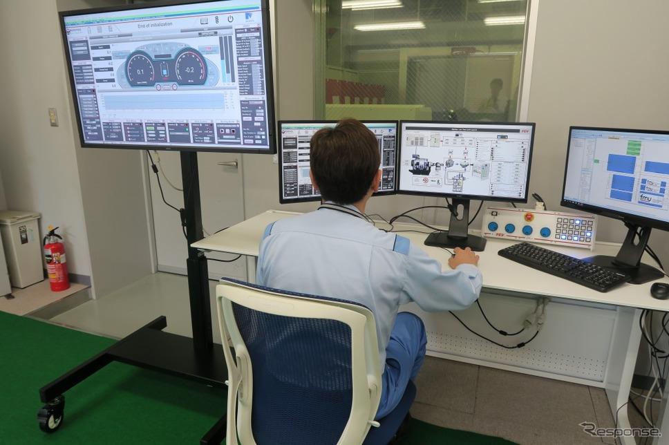 EVモーター単体評価ベンチシステム《画像:明電舎》