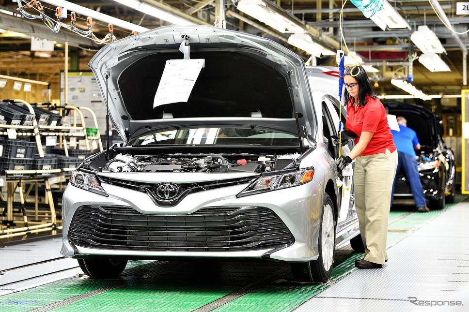 トヨタのケンタッキー工場《photo: Toyota  Motor Sales, U.S.A.》