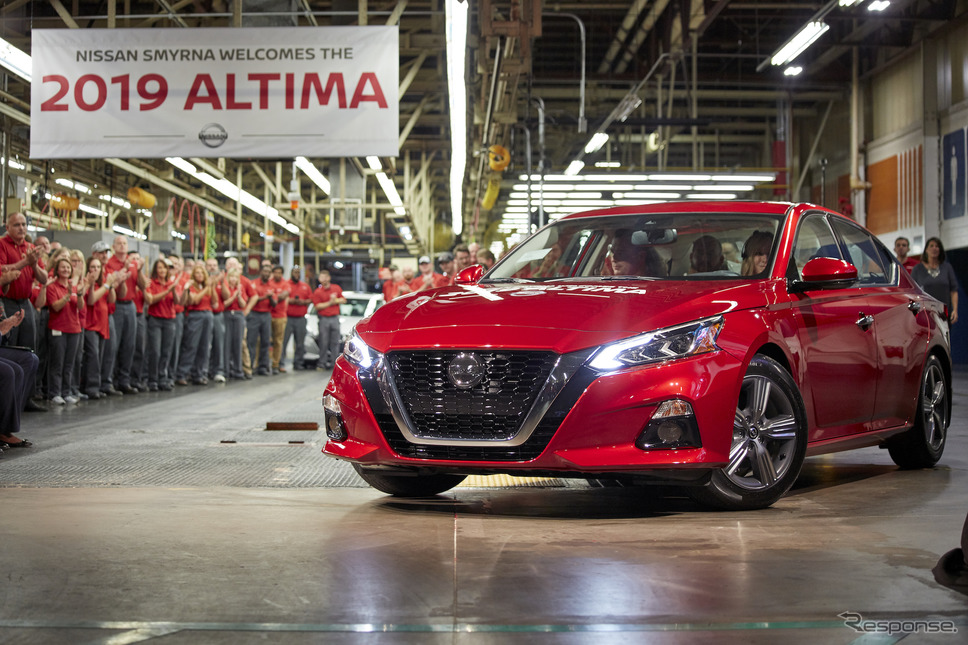 日産のスマーナ(ケンタッキー)工場《photo: Nissan North America》