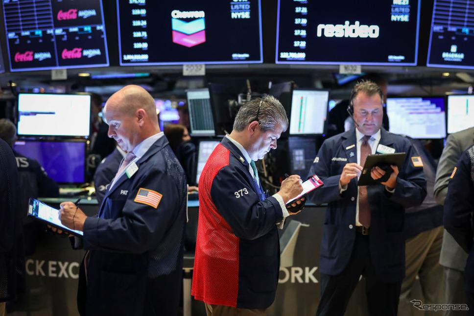 ニューヨーク証券市場(8月6日)《photo (c) Getty Images》