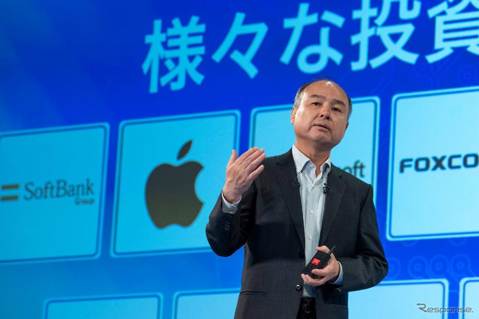 ソフトバンクグループの孫正義会長兼社長(8月7日)《photo: (c) Getty Images》