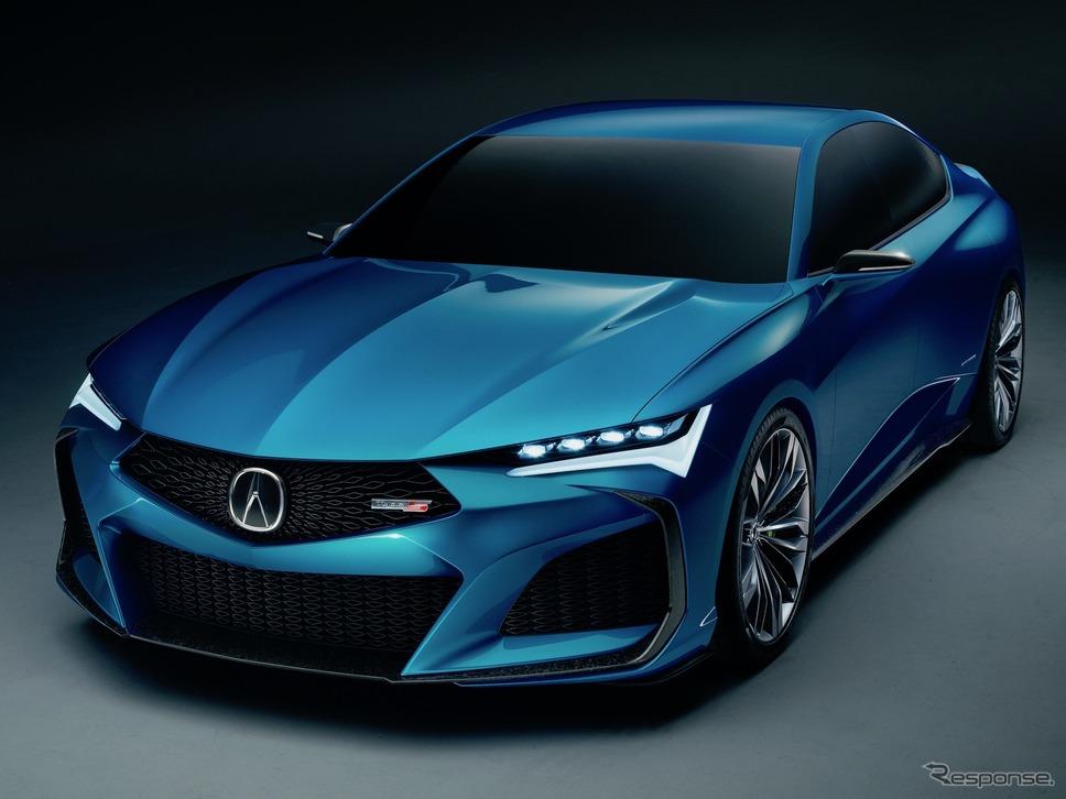 アキュラ・タイプSコンセプト《photo: Acura》