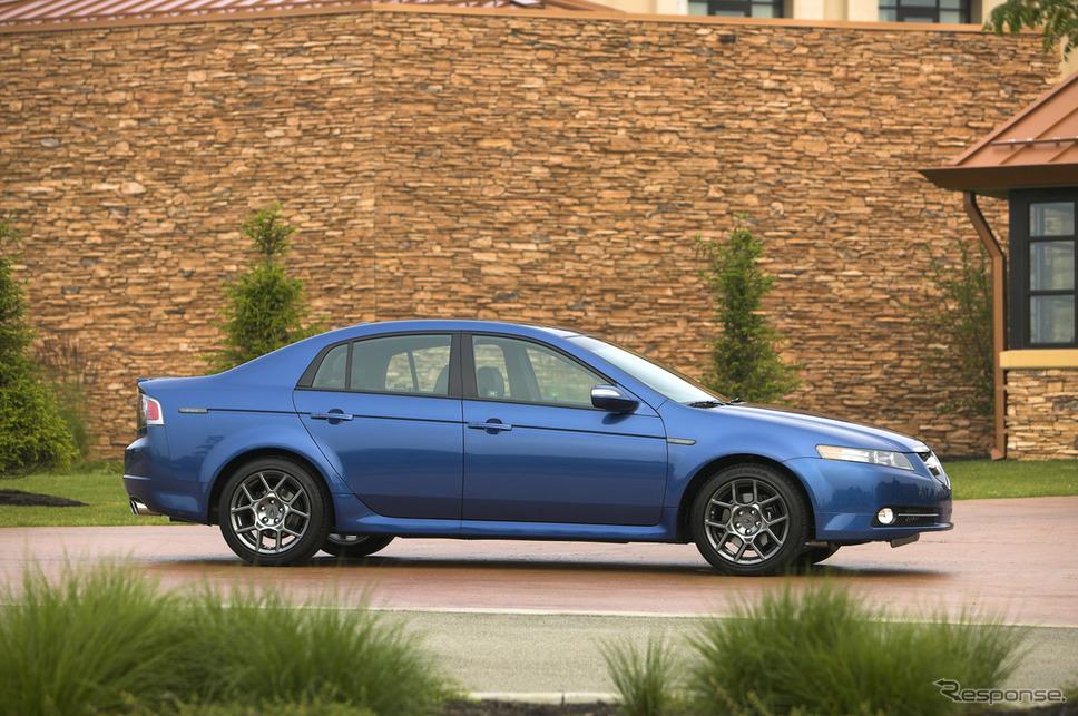 2007〜08年:TLタイプS《photo: Acura》