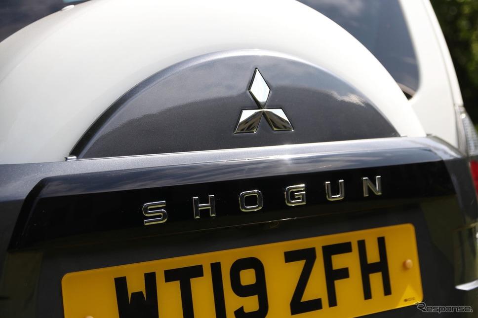 三菱ショーグン(パジェロ)の最終モデル《photo by Mitsubishi Motors》