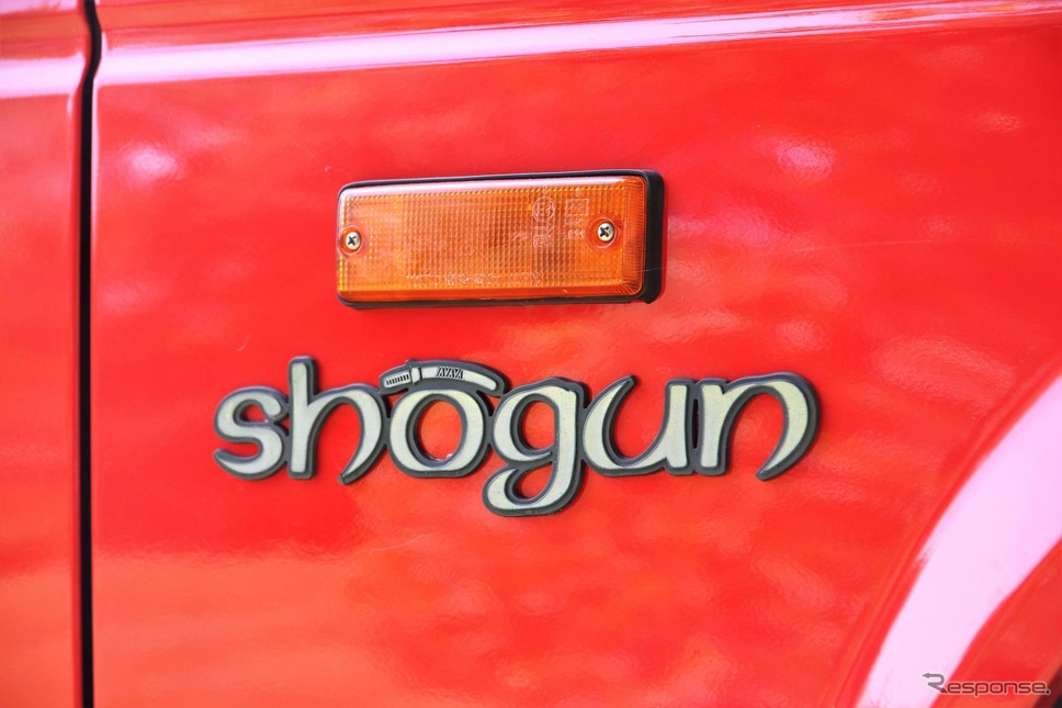 三菱ショーグン(パジェロ)の初代モデル《photo by Mitsubishi Motors》