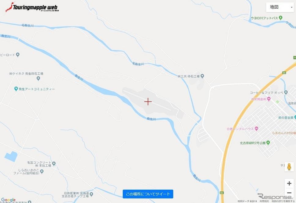 投稿用地図サイト《画像:昭文社》