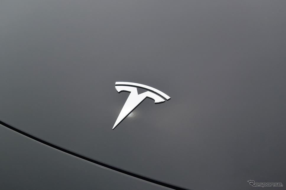テスラ モデル3 ロングレンジデュアルモーター(日本未投入グレード)《撮影 井元康一郎》