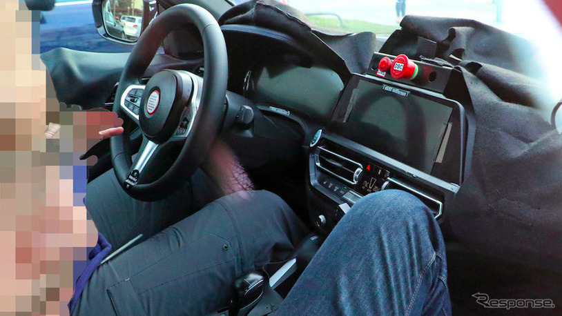 BMW 4シリーズクーペ スクープ写真《APOLLO NEWS SERVICE》