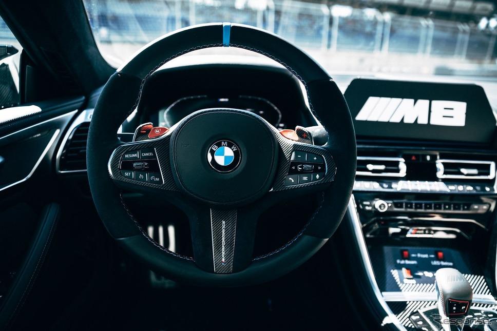 BMW M8 新型ベースのMotoGPセーフティカー《photo by BMW》