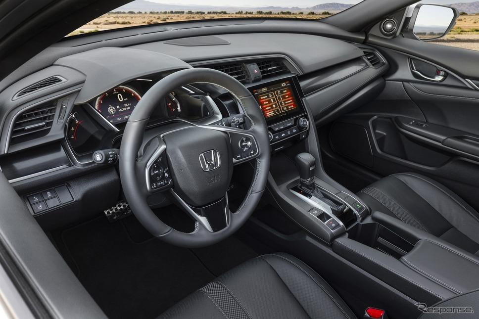 ホンダ・シビック・ハッチバック の2020年モデル《photo by Honda》