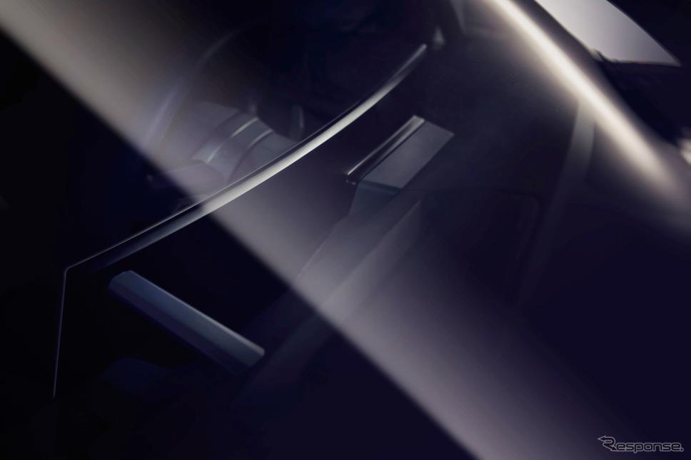 BMW iNEXTの新開発デジタルコクピット。大型曲面ディスプレイ採用《photo by BMW》