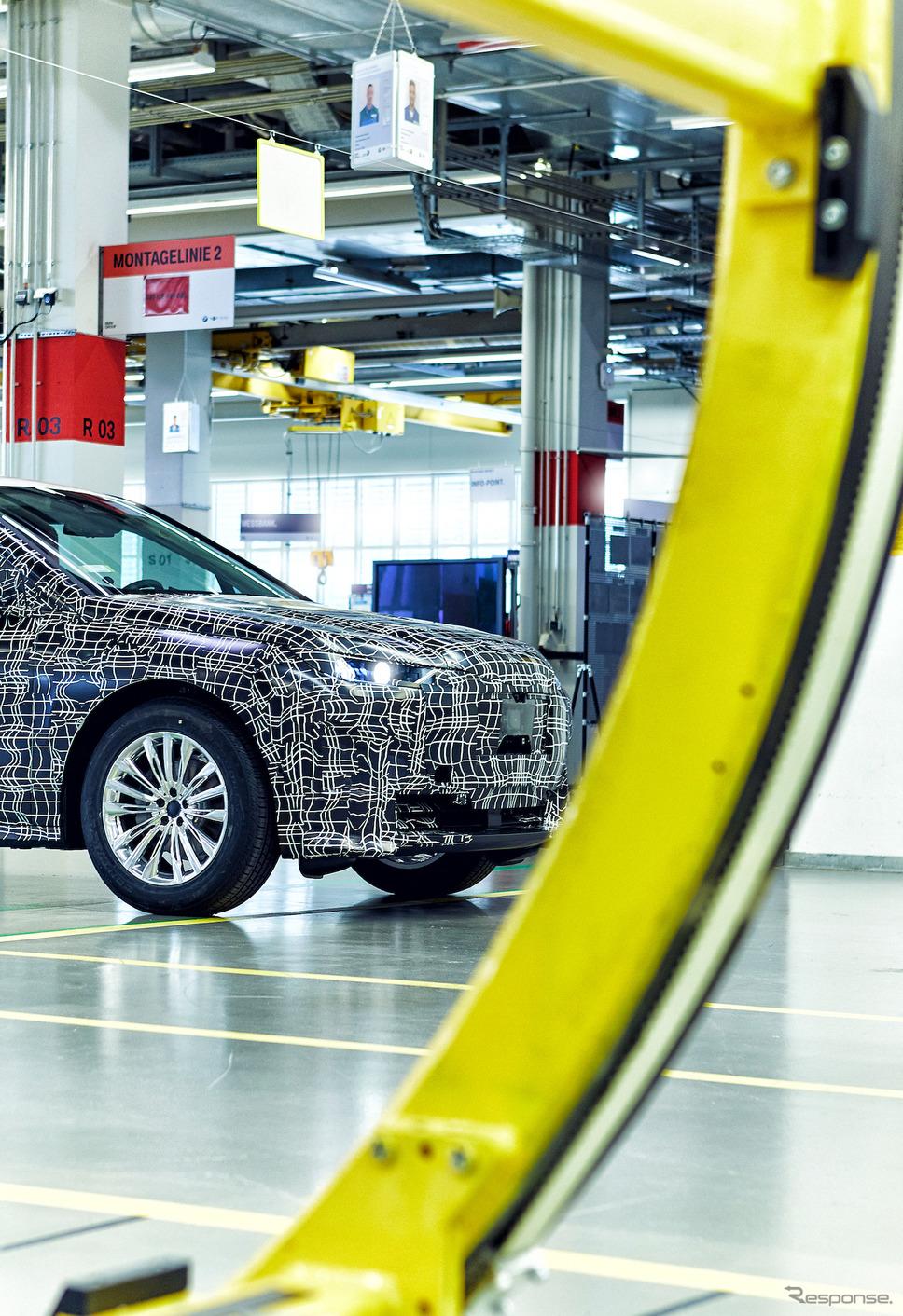 BMW iNEXT の最新プロトタイプ《photo by BMW》
