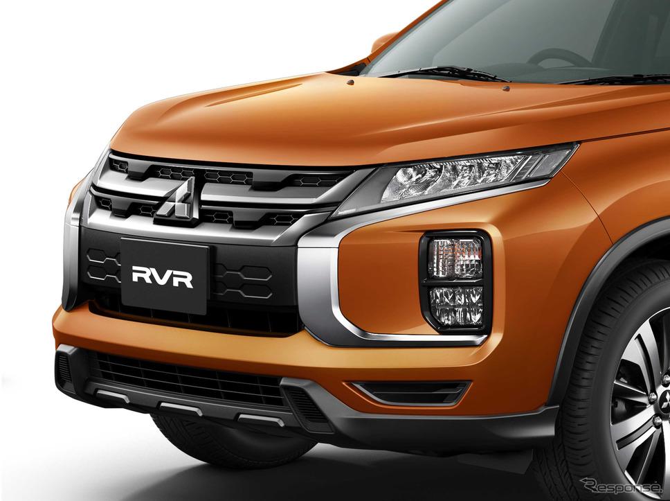 三菱 RVR 改良新型(「G」サンシャインメタリック)《画像:三菱自動車》