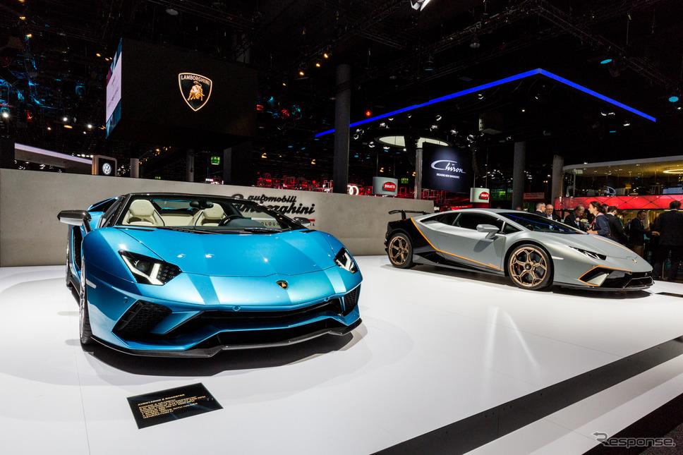 ランボルギーニ(フランクフルトモーターショー2017)《photo: Lamborghini》