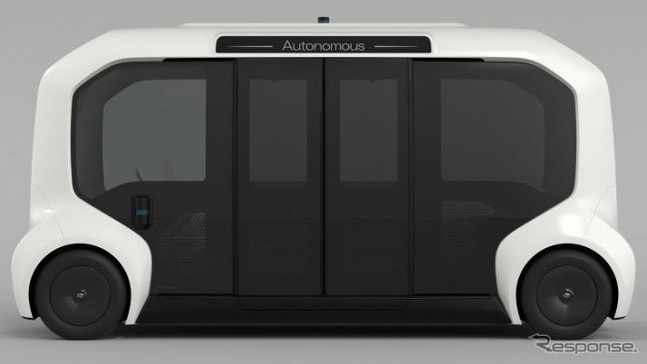 e-パレット《写真 トヨタ自動車》