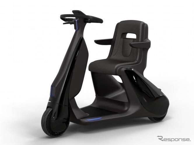 歩行領域EV:座り乗りタイプ《写真 トヨタ自動車》