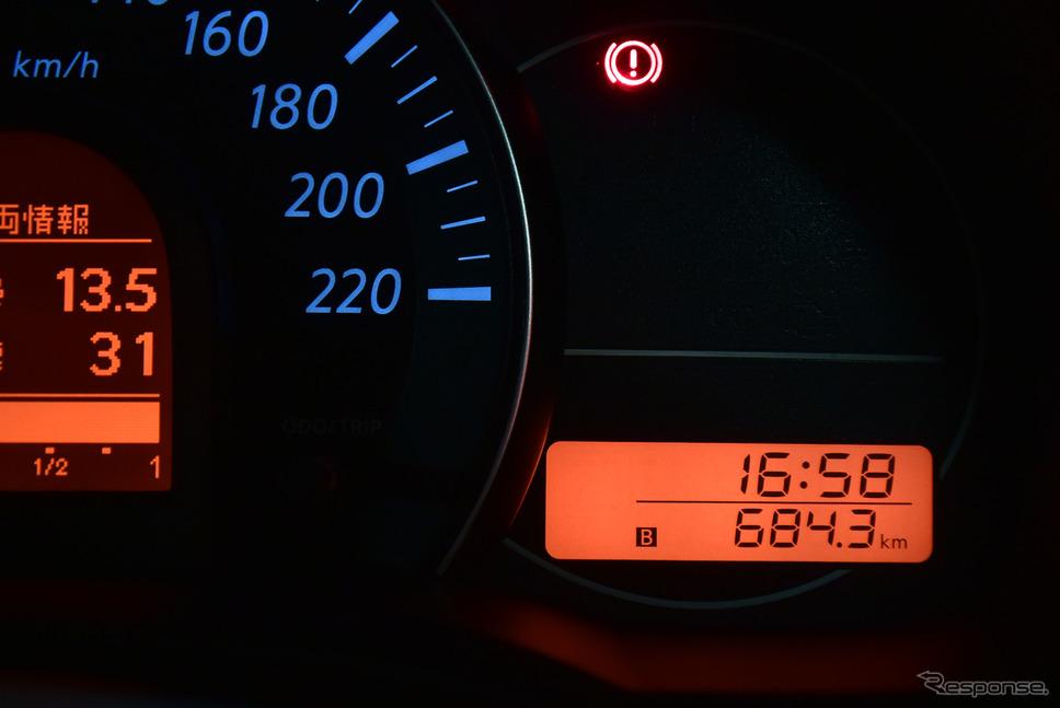 総走行距離684.3km。思いがけず楽しいツーリングだった。《撮影 井元康一郎》