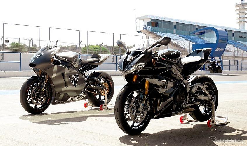 トライアンフ デイトナ Moto2 765リミテッドエディション《画像:トライアンフモーターサイクルズジャパン》