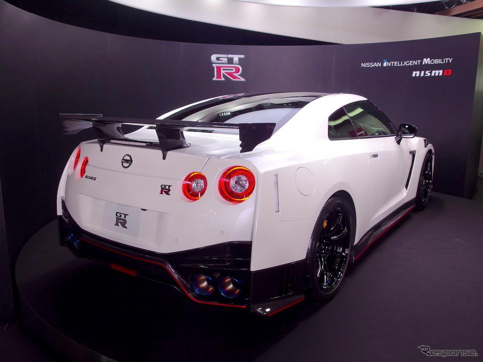 日産GT-R NISMO 2020年型《撮影 高木啓》