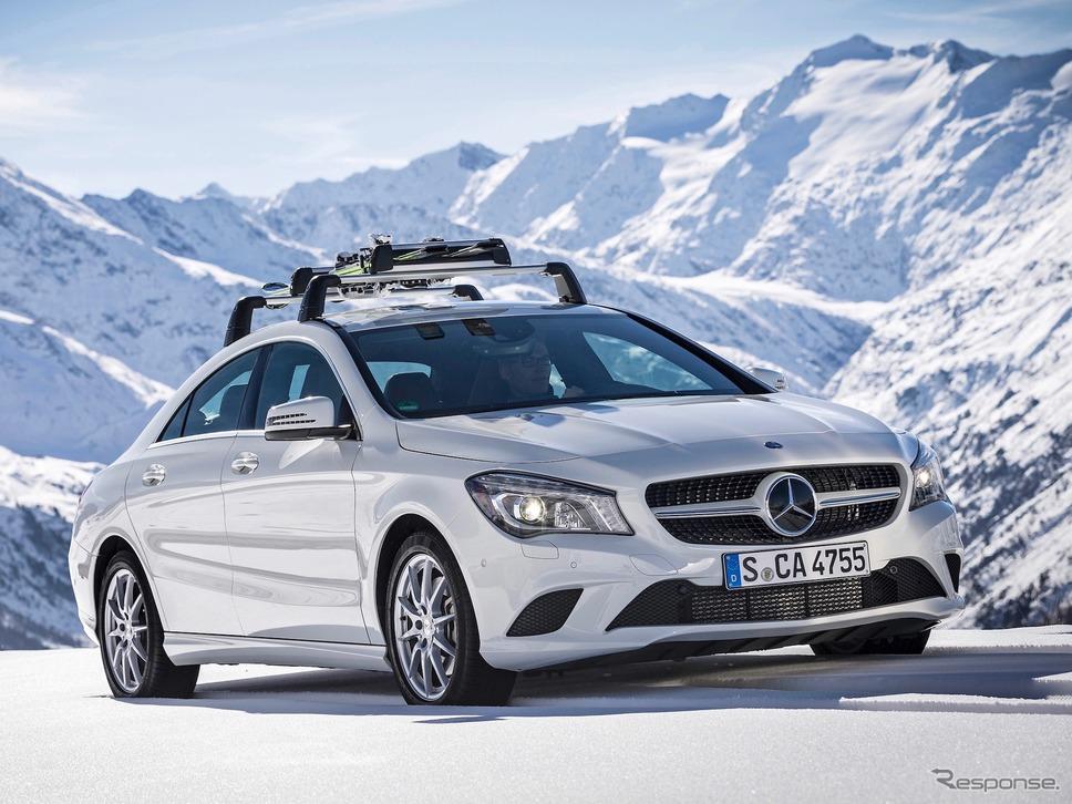 初代CLA(2013年)《photo: Daimler》