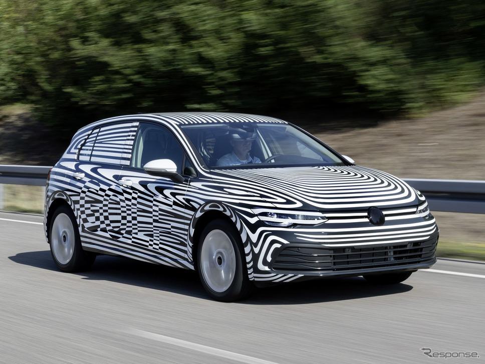 フォルクスワーゲン・ゴルフ 新型のプロトタイプ《photo by Volkswagen》